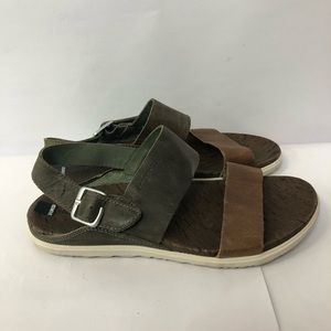 Merrell sport Sandals women size 7 leather upper